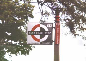 bus compulsory coach request stop flag 1.