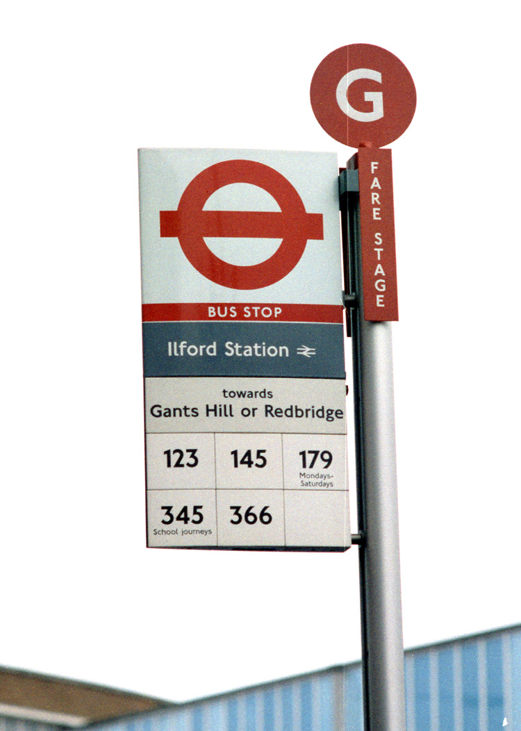 London (Bus) Stop Flags.