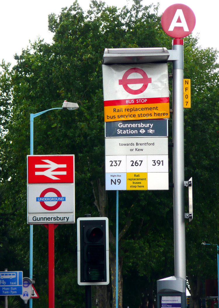 London (Bus) Stop Flags