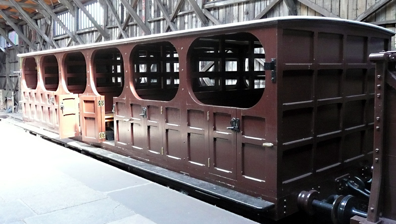 second class GWR broad gauge carriage
