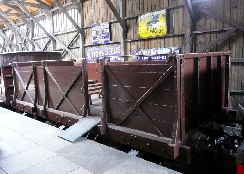third class GWR broad gauge carriage