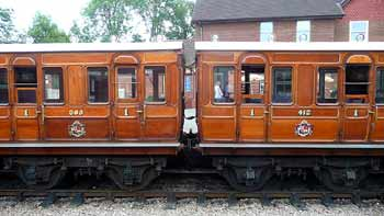first class compartments Chesham Set