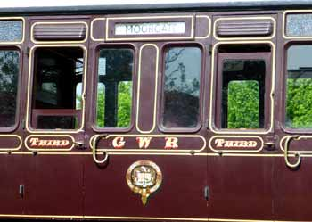 GWR City Stock carriage.