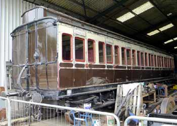 Dean 8 compartment clerestory roof carriage.