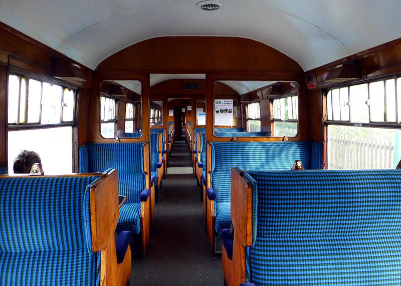 Historic British Rail Mk1 Carriages