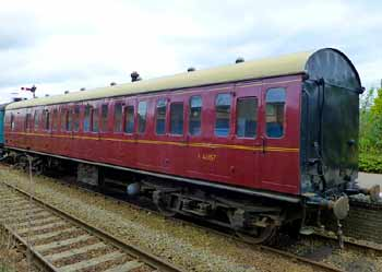 BR compartment carriage.