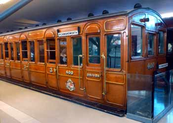 Ashbury Bogie coach No.400 London Transport Museum