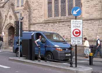 paying the Durham congestion charge.