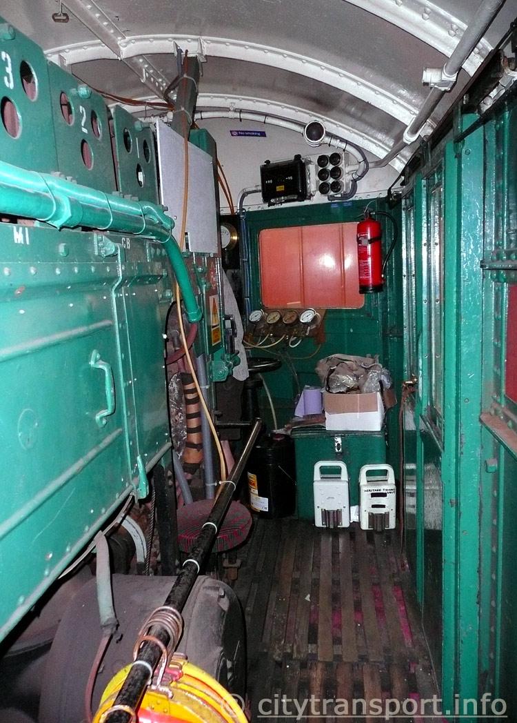 Metropolitan Railway Electric Locomotive No 12 Sarah Siddons