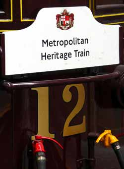 Metropolitan Railway Electric Locomotive Sarah Siddons.