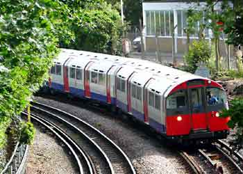 Piccadilly Line 1973 Tube Stock.