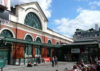 London Transport Museum, Covent Garden.