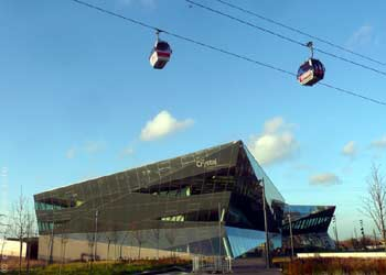 Emirates Air Line cable car.