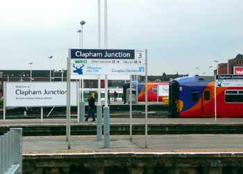 Clapham Junction station.
