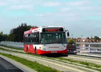 Luton Dunstable OBahn Guided Busway.