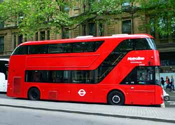 New Bus For London NBFL NB4L NRM ST812 Routemaster