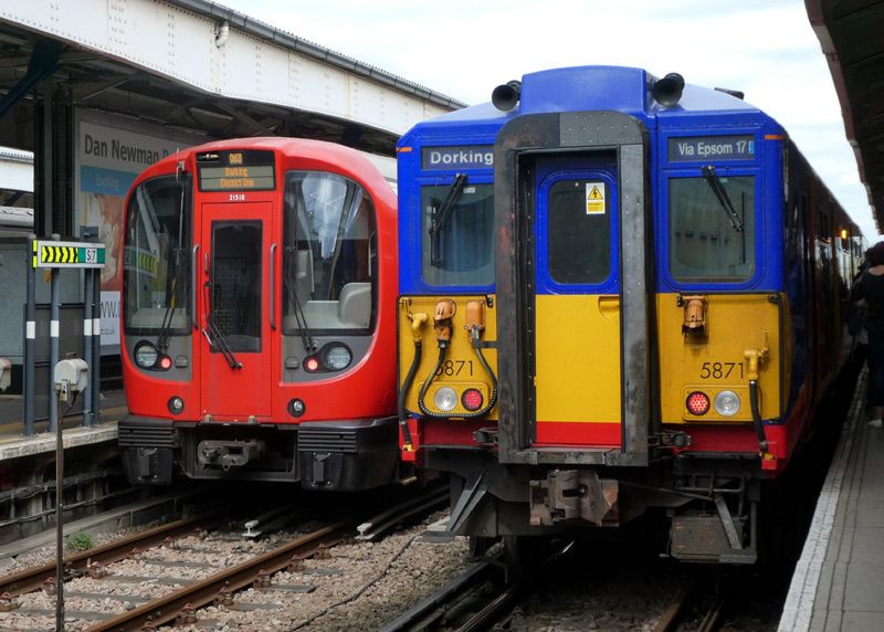 Wimbledon Railway Station Photo 16 London /& South Western Railway.
