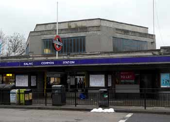 Art Deco Ealing Common station.