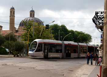 Sassari Metrotranvia Metrosassari tram-train.