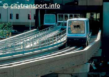 The former Birmingham airport magnetic levitation 'Maglev' people-mover.