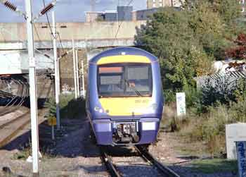 Class 357 electrostar - essentially the same bodyshell as the class 170 diesel Turbostar trains which operate in many parts of Britain.