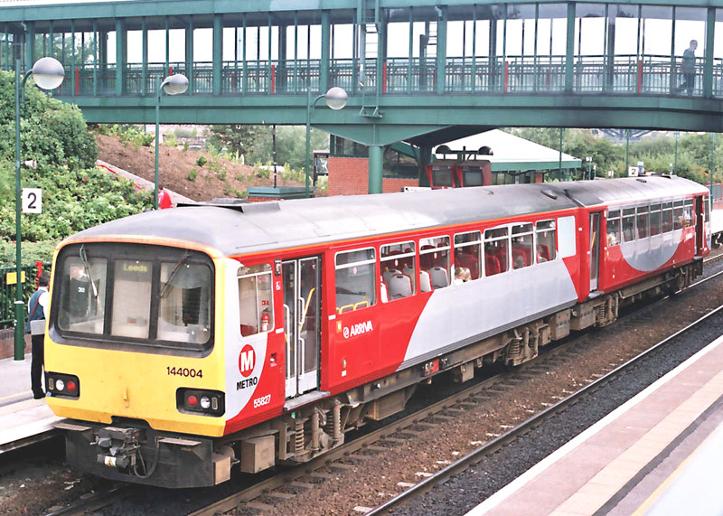 Class 144 Pacer at Meadowhall.