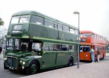 Routemaster RMC 1461 and FRM1.