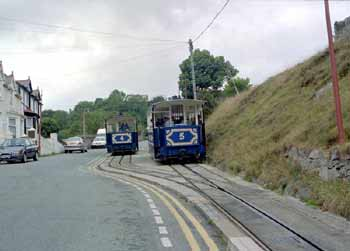 The Great Orme Tramway.