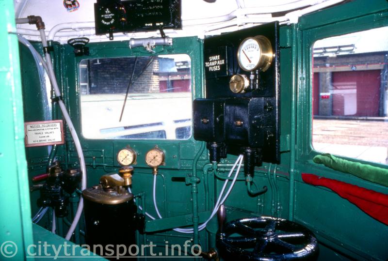 Metropolitan Railway Electric Locomotive No 12 'Sarah Siddons'