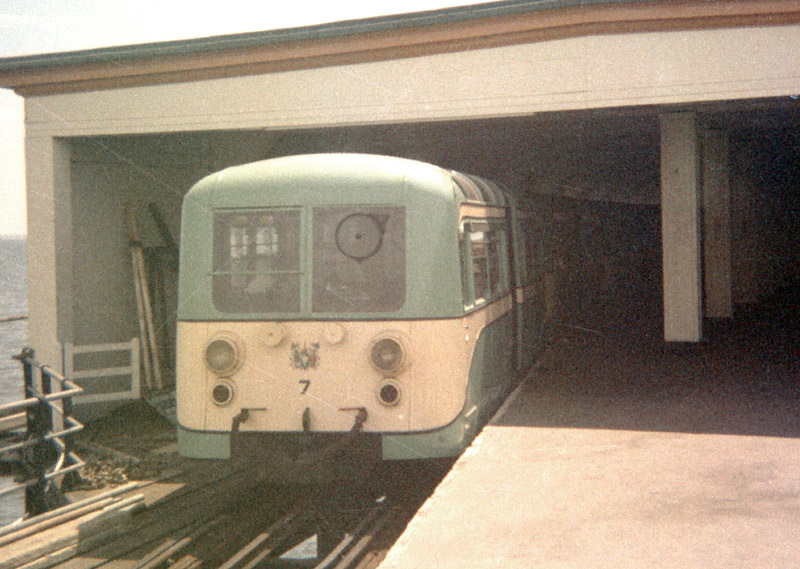 Former Southend Pier electric train, click to see more and larger images.